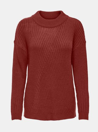 Hnedý sveter Jacqueline de Yong Zofra