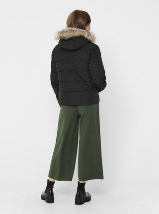 Černá prošívaná bunda Jacqueline de Yong Sunset