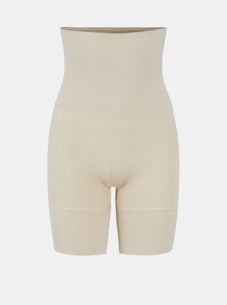 Krémové sťahovacie nohavičky Pieces Bella