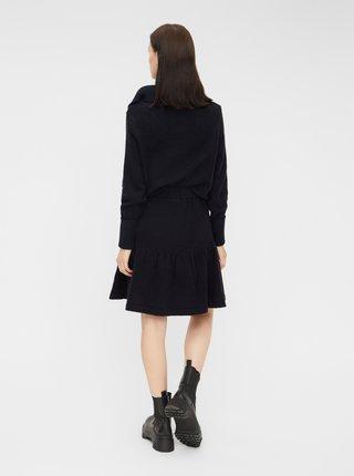 Tmavomodrá sukňa Pieces Rea