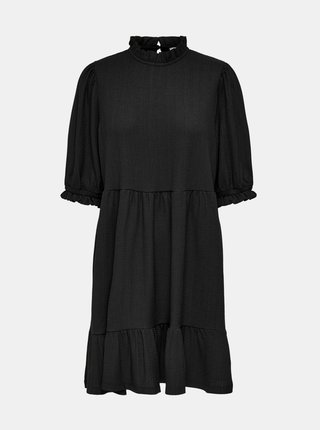 Černé volné šaty ONLY Zille