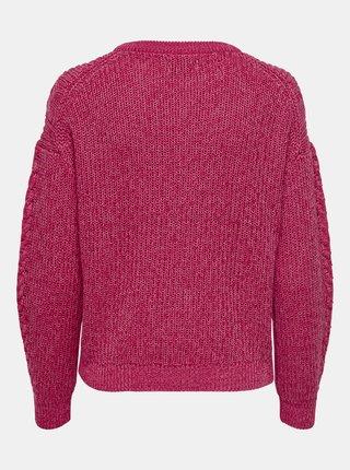 Tmavě růžový svetr ONLY Rosie
