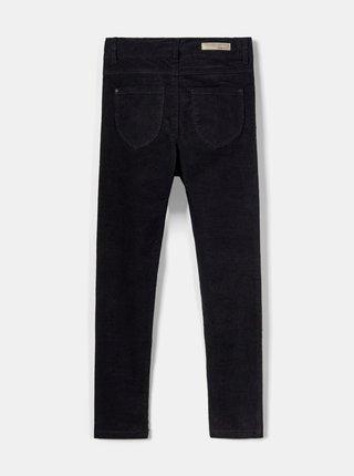 Černé holčičí manšestrové  kalhoty name it Polly