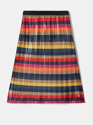 Červeno-modrá holčičí pruhovaná sukně name it Odsana
