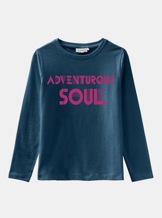 Modré holčičí tričko name it Vix