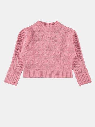 Ružový dievčenský sveter name it Ottie