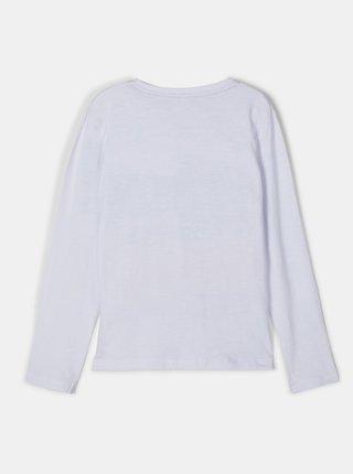 Biele chlapčenské tričko name it Nustav
