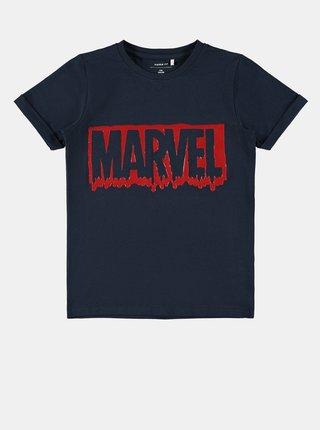 Tmavomodré chlapčenské tričko name it Marvel