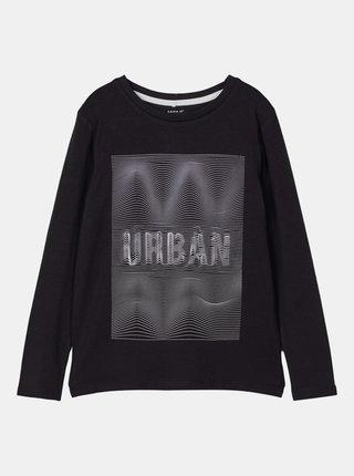 Čierne chlapčenské tričko name it Nirvan