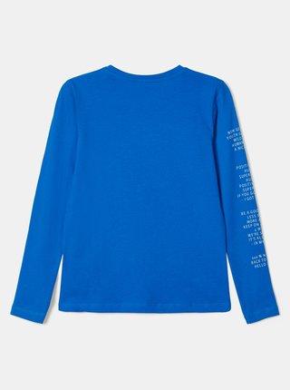 Modré chlapčenské tričko name it Naman