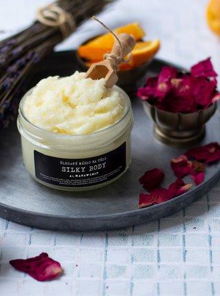 Veganské šlehané tělové máslo Almara Soap Silky Body 120 ml