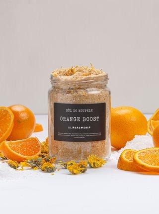 Sůl do koupele svůní pomeranče a mandarinky Almara Soap Orange Boost 450 g