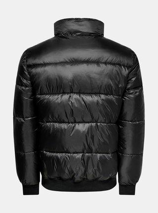 Černá prošívaná bunda ONLY & SONS Sand
