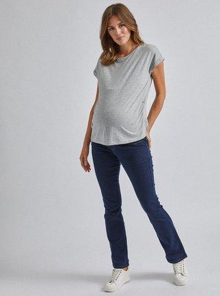 Tmavě modré těhotenské flared džíny Dorothy Perkins Maternity