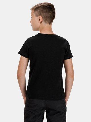 Čierne chlapčenské tričko SAM 73
