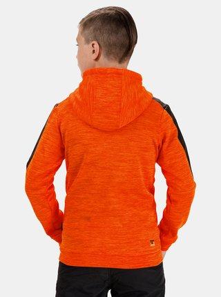 Oranžová chlapčenská mikina SAM 73
