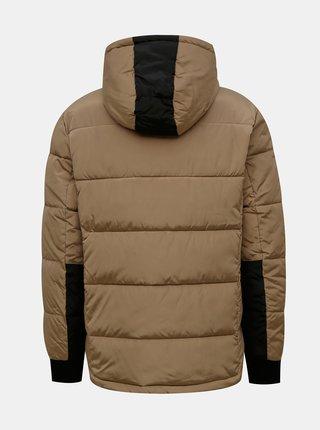 Svetlohnedá zimná prešívaná bunda Redefined Rebel