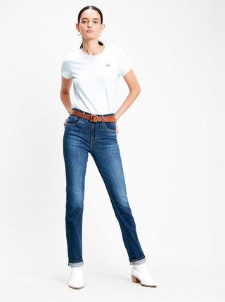 Tmavě modré dámské skinny fit džíny Levi's®