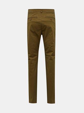 Hnědé chino kalhoty ONLY & SONS Cam