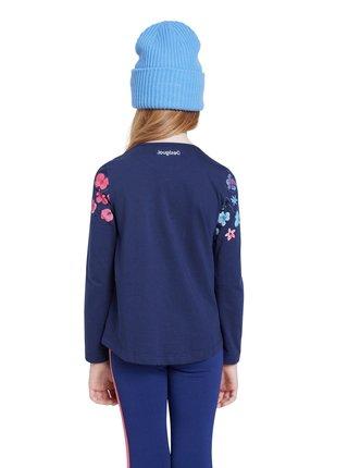 Desigual modré dívčí tričko TS Texcoco