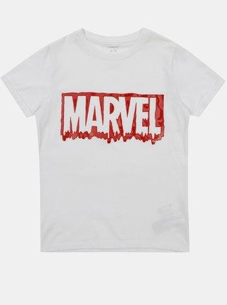 Biele chlapčenské tričko name it Marvel