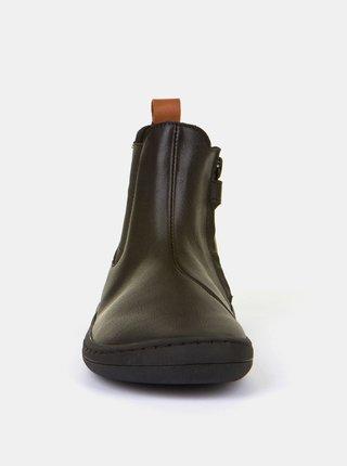 Čierne detské kožené topánky Froddo