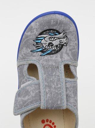 Modro-šedé chlapčenské topánky 3F