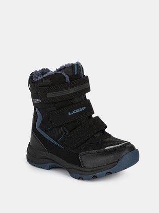 Černé dětské zimní boty LOAP Sneeky