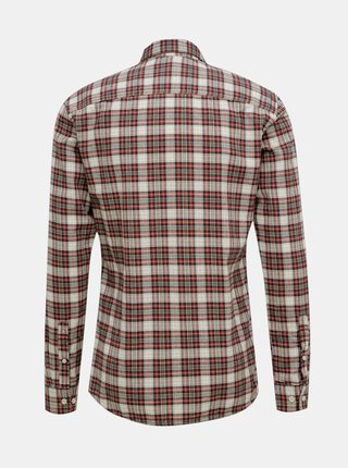 Hnedá kockovaná košeľa ONLY & SONS New Omar