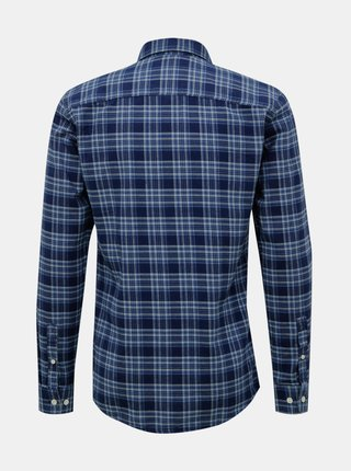 Modrá kockovaná košeľa ONLY & SONS New Omar