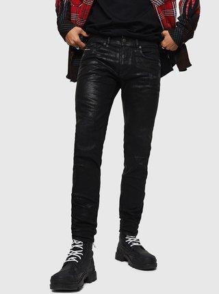 Černé pánské skinny fit džíny Diesel