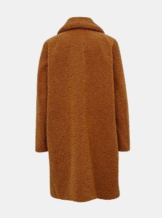 Hnedý kabát VERO MODA CURVE Lucinda