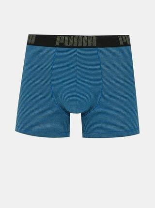Sada dvoch boxeriek v modrej a čiernej farbe Puma