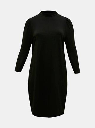Černé šaty se stojáčkem ONLY CARMAKOMA Malorca
