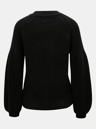 Čierny sveter ONLY Laysla