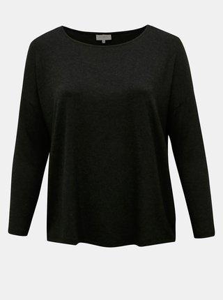 Černé basic tričko ONLY CARMAKOMA Carma