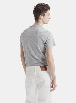 Šedé pánske tričko s potlačou Levi's®