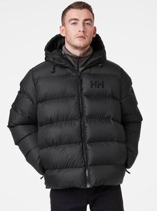 Černá pánská zimní prošívaná bunda HELLY HANSEN