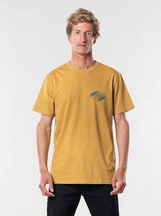 Žlté pánske tričko Rip Curl