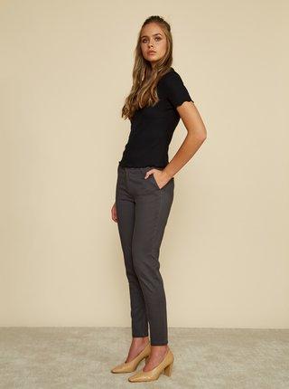 Šedé dámské slim fit kalhoty ZOOT Baseline Heather