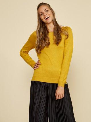 Žlutý dámský basic svetr ZOOT Baseline Ema