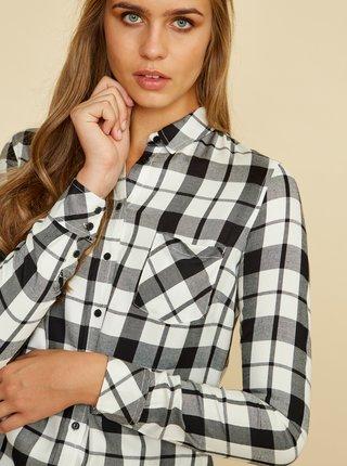 Černo-bílá dámská kostkovaná košile ZOOT Baseline Dorcie