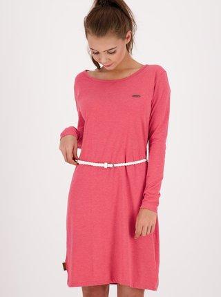 Ružové šaty s opaskom Alife and Kickin