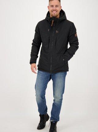 Čierna pánska zimná bunda Alife and Kickin
