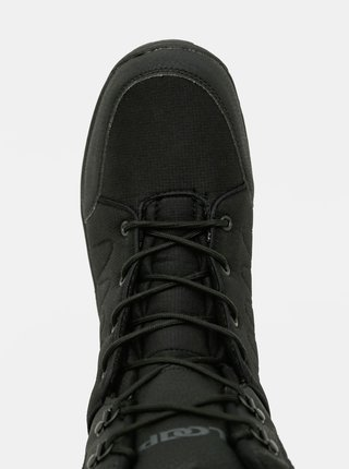 Čierne pánske členkové zimné topánky LOAP