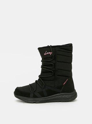 Černé dámské zimní boty LOAP Altena
