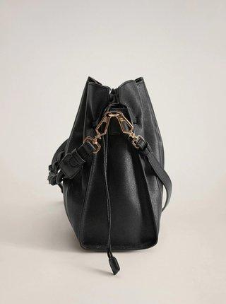 Černá crossbody kabelka Mango Acordeon