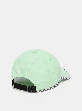 Světle zelená kšiltovka VANS Check It Twice