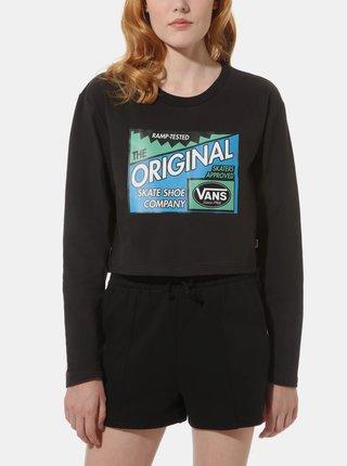 Čierne dámske tričko VANS