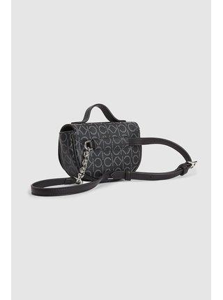 Calvin Klein černá ledvinka Saddle Balt Bag